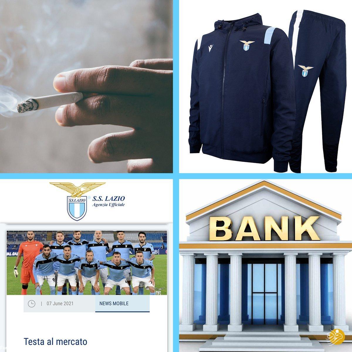(عکس) انتشار خبر انتخاب سرمربی جدید به وسیله سیگار و بانک!