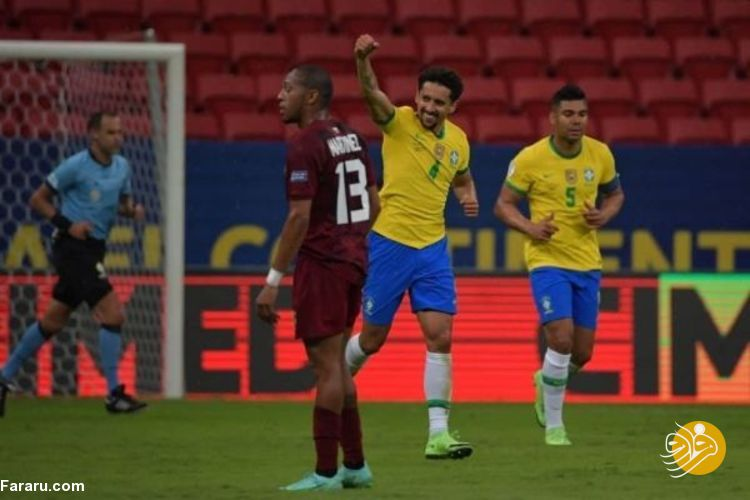 (ویدیو) خلاصه بازی برزیل ۳ – ۰ ونزوئلا