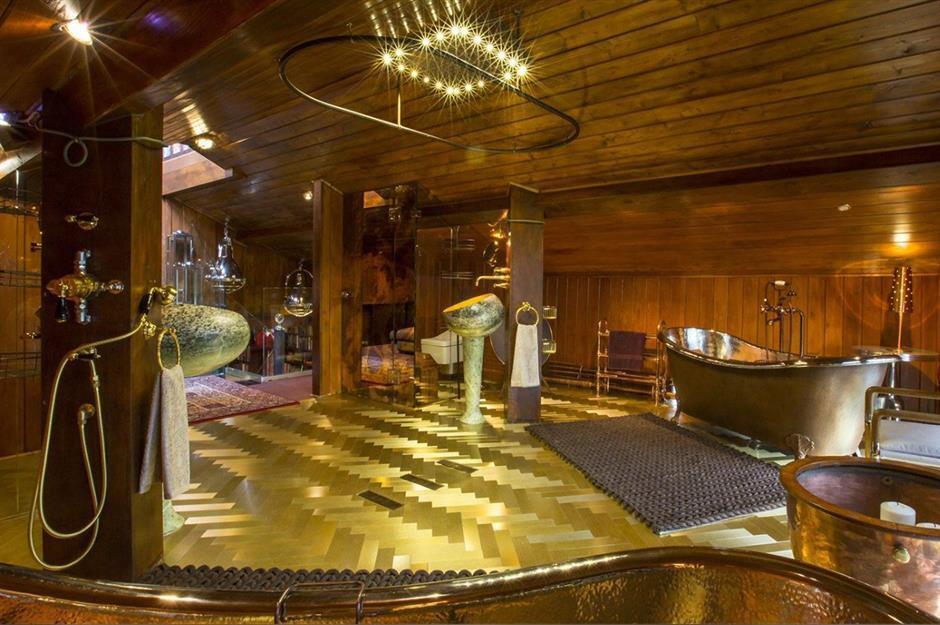 لاکچریترین حمامهای دنیا با امکانات VIP + تصاویر