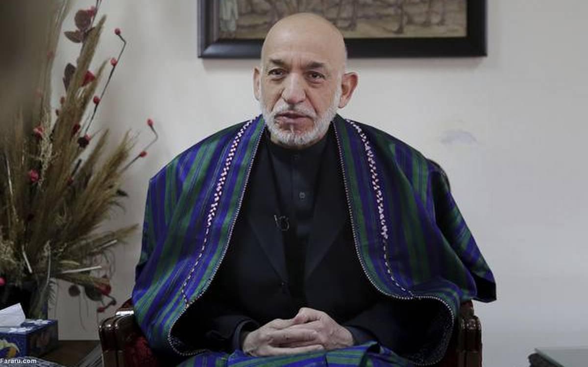 (ویدئو) حامد کرزی با شعری از صائب تبریزی پاسخ جو بایدن را داد