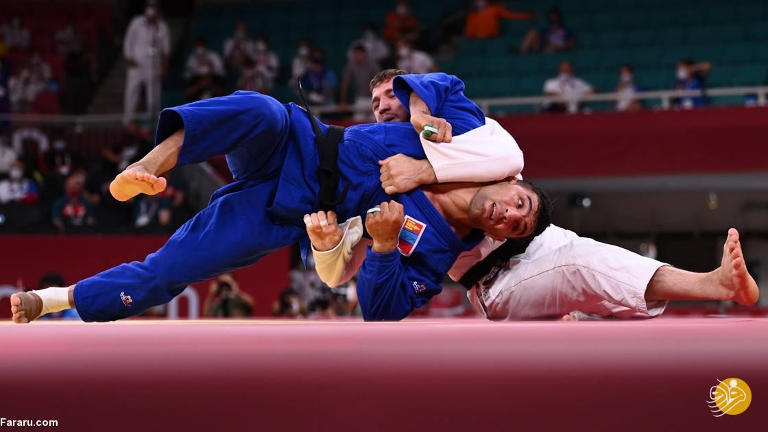 نقره المپیک بر سینه سعید ملایی؛ خوش به حال مغولستان!