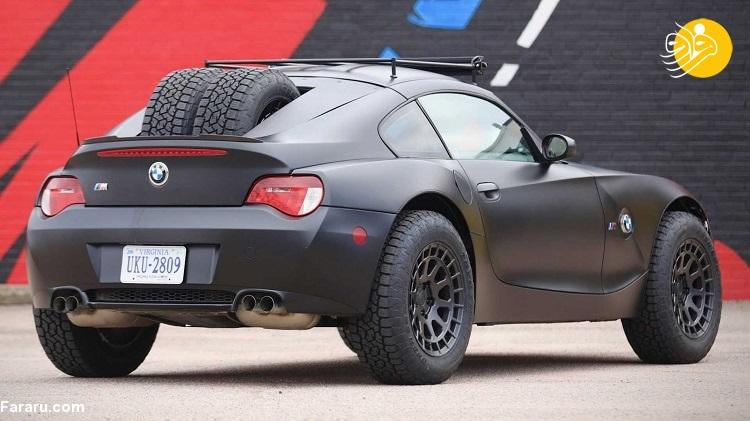 (تصاویر) رونمایی از چهره جدید و آفرود BMW Z4