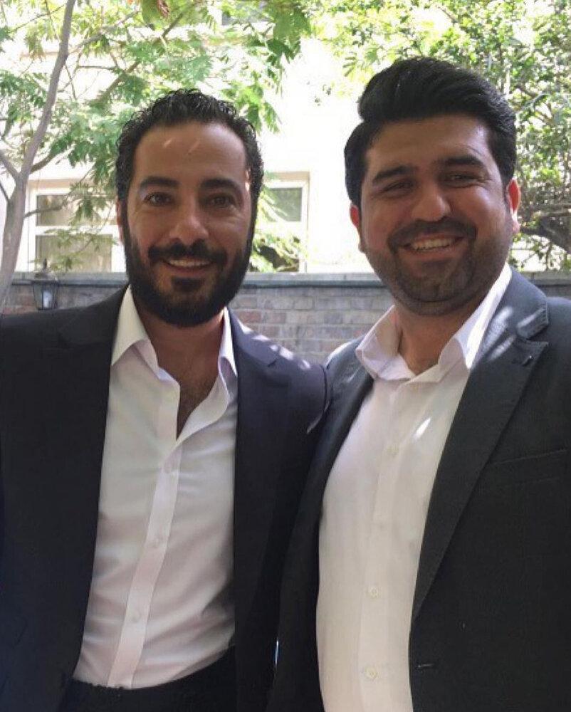 (تصویر) مراسم عقد نوید محمدزاده و فرشته حسینی