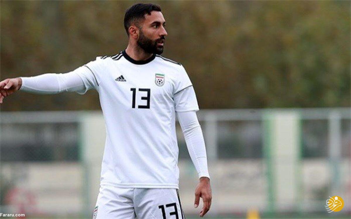 (عکس) واکنش بحث برانگیز بازیکن تیم ملی به نیمکتنشینی