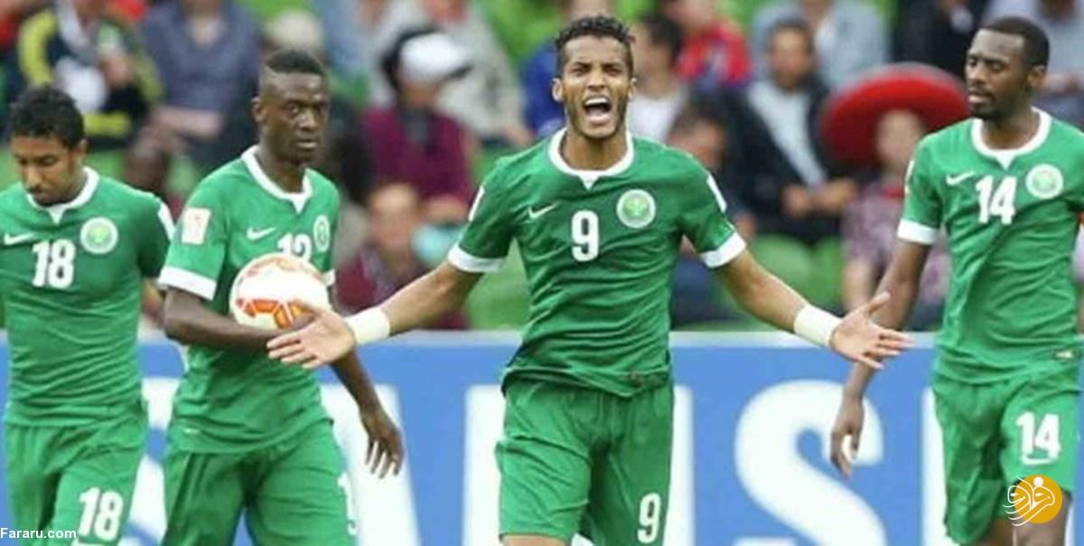 یکه تازی فوتبال عربستان در گروه استرالیا و ژاپن