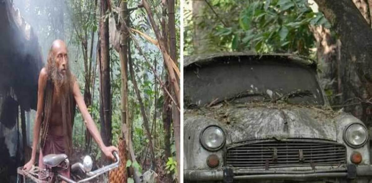 مردی که ۱۷ سال است در جنگل زندگی میکند