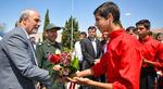 بازدید وزیر ورزش و جوانان از استان فارس. (مهر/ امین برنجکار)