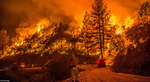 آتشسوزی مهیب در کالیفرنیا. (Andrew Seng/Shutterstock)