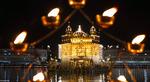 معبد طلایی؛ امریتسار هند. (Raminder Pal Singh/EPA)
