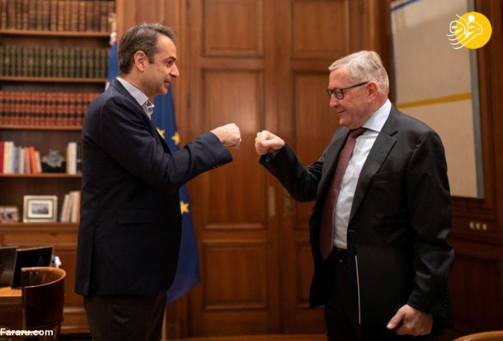 کیریاکوس میتسوتاکیس نخست وزیر یونان