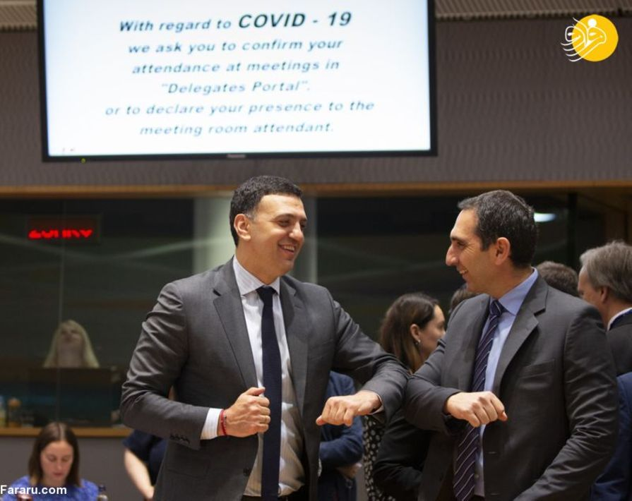 واسیلیس کیکیلیاس وزیر بهداشت یونان و وزیر بهداشت قبرس