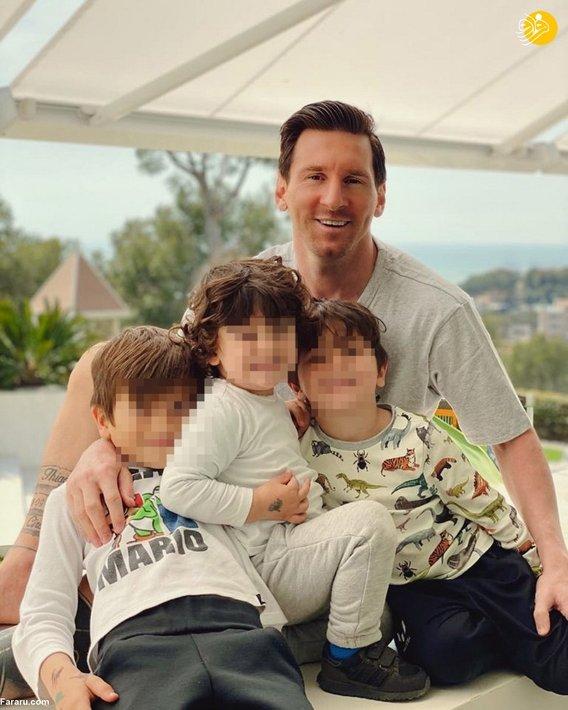 لیونل مسی و پسرانش