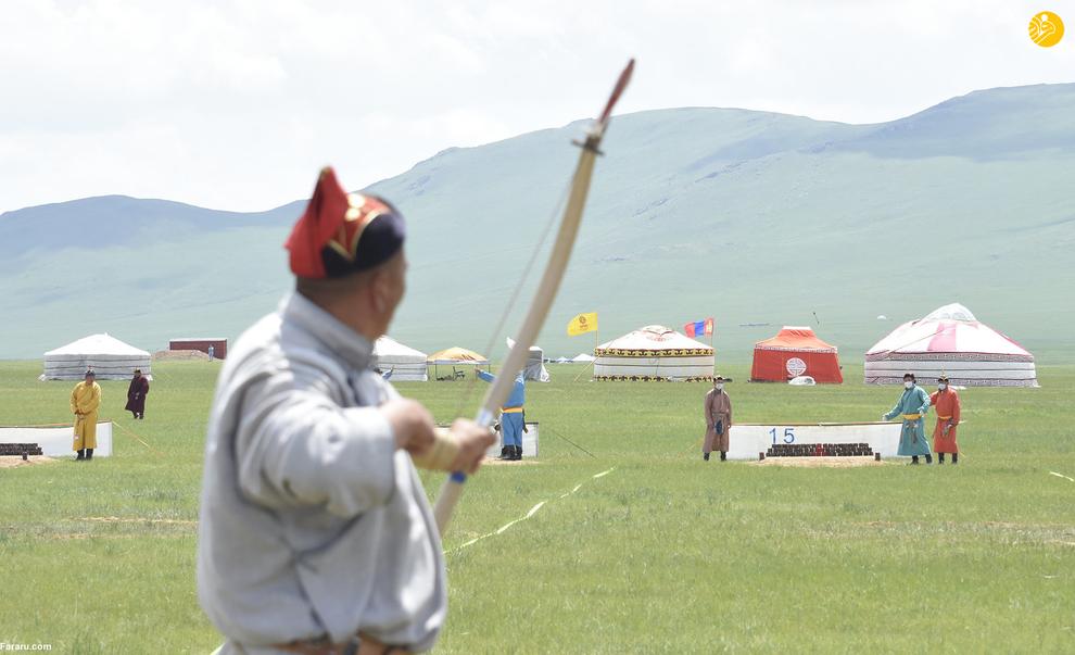 """(تصاویر) رویداد بیسابقه در مغولستان؛ """"ندام"""" بدون تماشاگر!"""