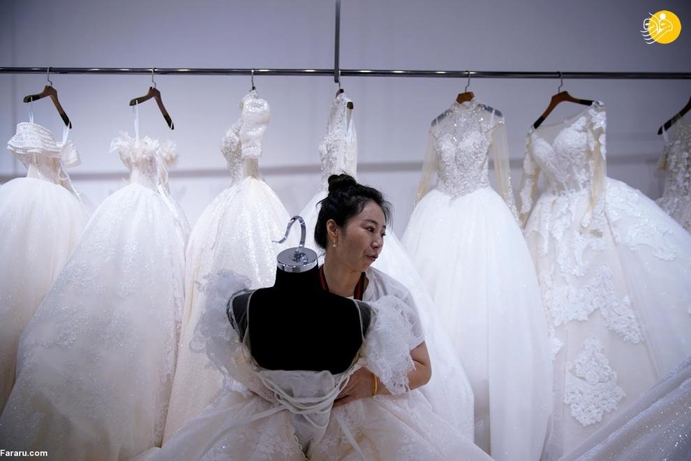 resized 741202 337 - شهری که بزرگترین تولیدکننده لباس عروس در جهان است +عکس