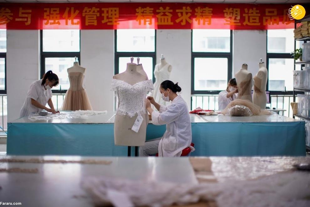 resized 741206 684 - شهری که بزرگترین تولیدکننده لباس عروس در جهان است +عکس