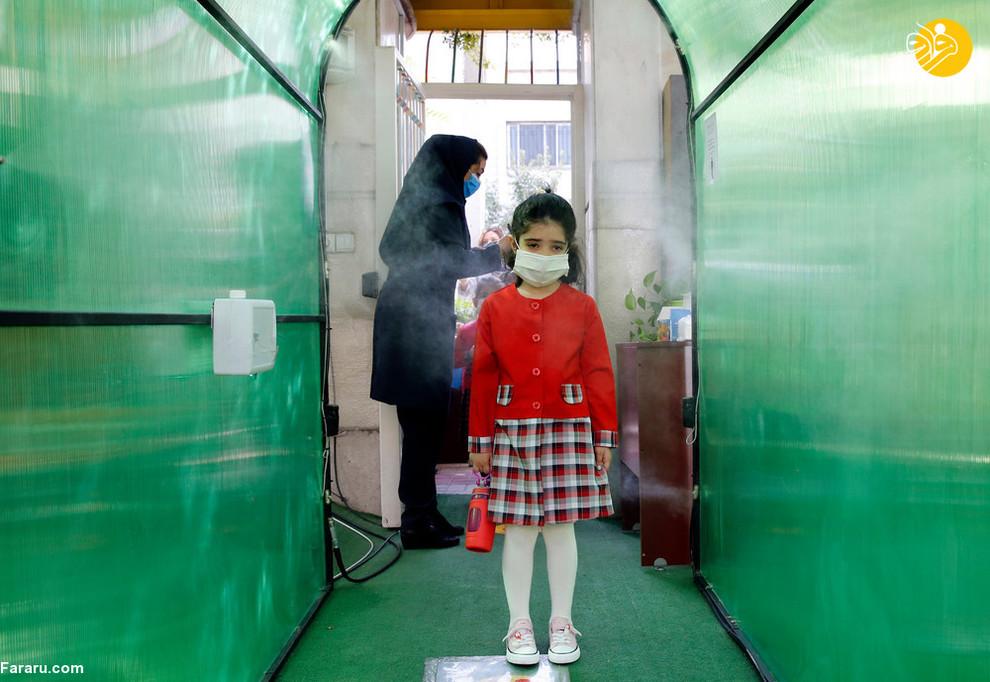 بازگشایی یک مدرسه خصوصی در شمال تهران/ عکس: EPA
