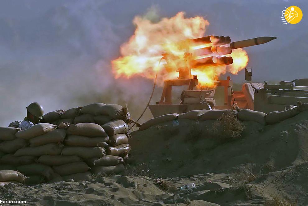 شلیک موشک در رزمایش ذوالفقار 99/ عکس: Reuters