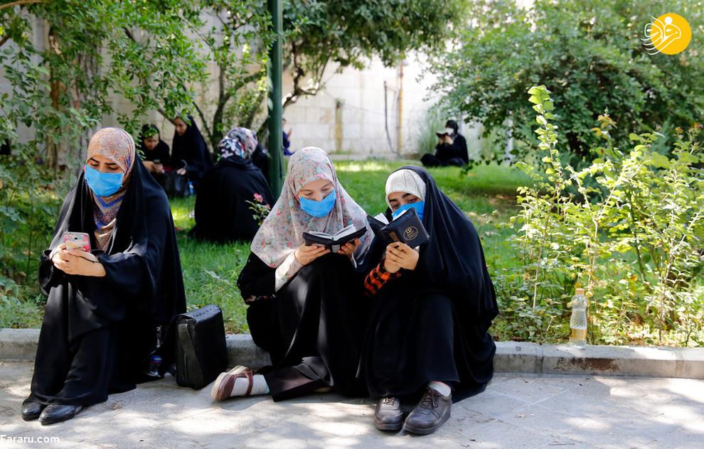 مراسم دعای عرفه در دانشگاه تهران/ عکس EPA