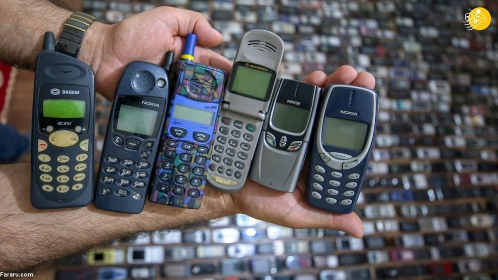 resized 792574 144 - مردی که ۱۰۰۰ موبایل در خانه دارد!/ عکسها