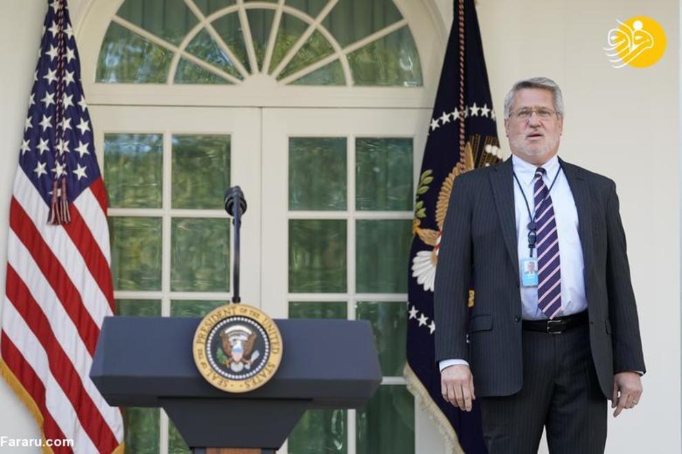 8 مارس 2019: بیل شاین، مدیر ارتباطات کاخ سفید