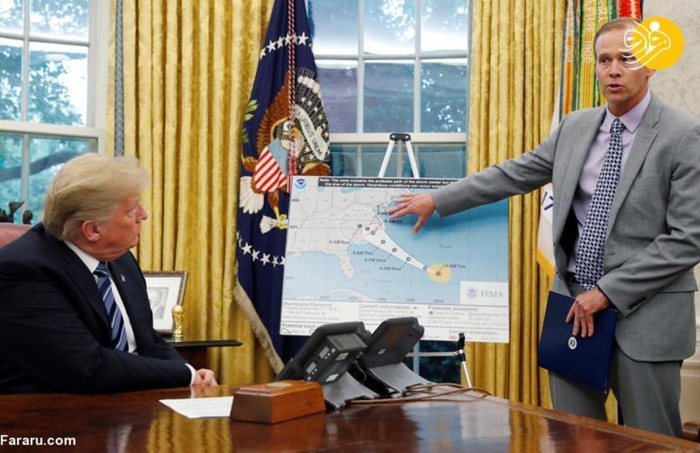 ویلیام براک لانگ مدیر آژانس فدرال مدیریت اضطرار (FEMA)