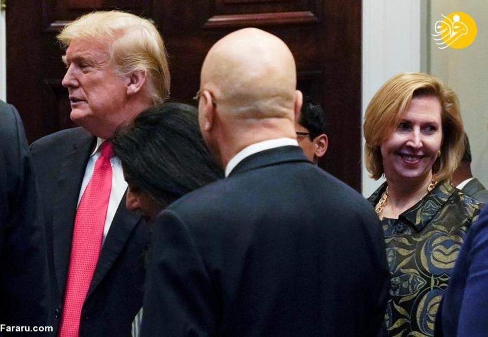 14 نوامبر 2018: میرا ریکاردل، معاون مشاور امنیت ملی کاخ سفید