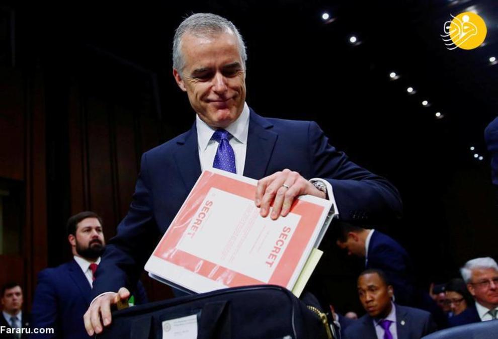 29 ژانویه 2018: اندرو مک کیب، معاون FBI