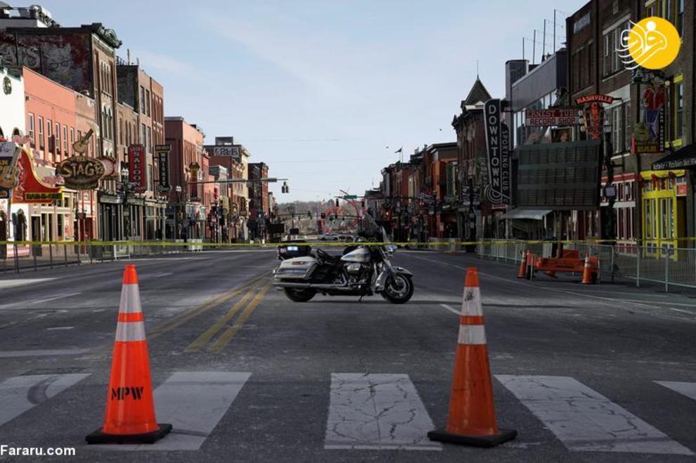 تصادف مرگبار ۲۰ خودرو در محور مشهد