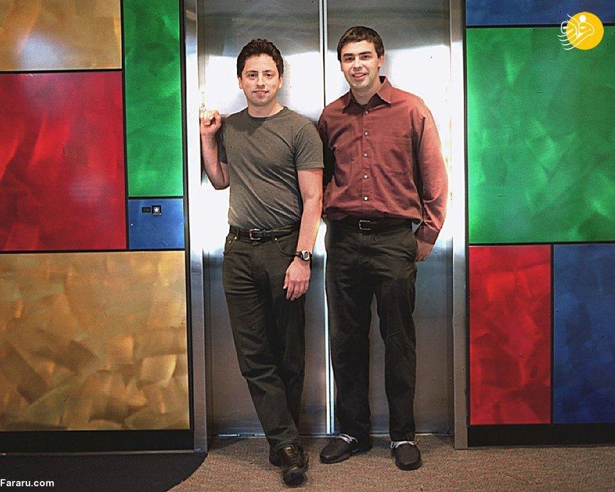 لری پیچ و سرگئی برین بنیانگذاران گوگل هستند. ثروت پیچ ۶/ ۸۳ میلیارد دلار و دارایی برین ۸۱ میلیارد دلار است.