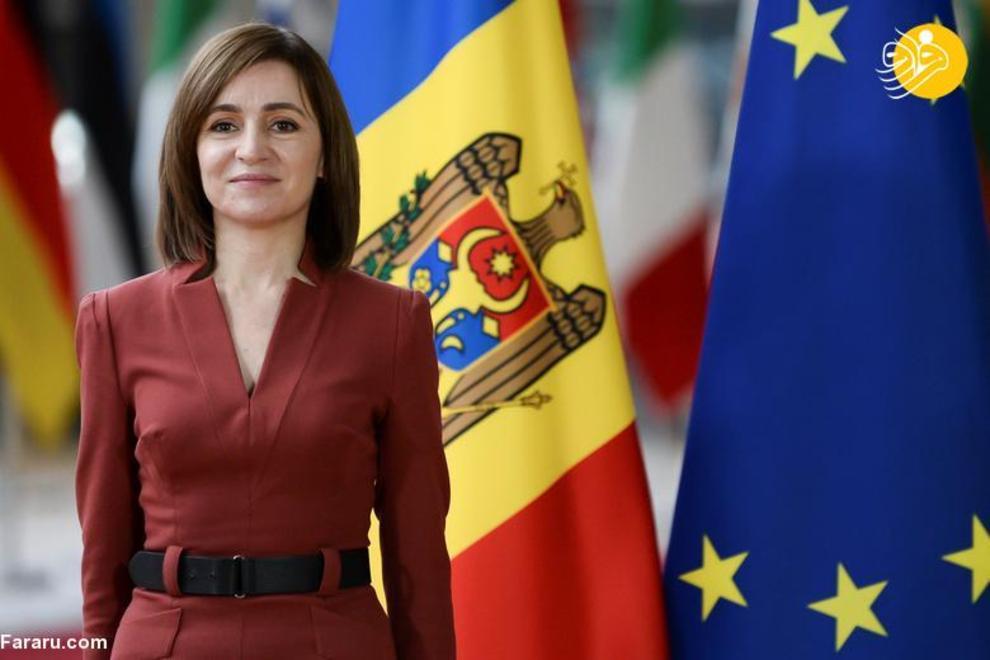 مایا ساندو رئیس جمهور مولداوی که از 24 دسامبر 2020 روی کار آمده است