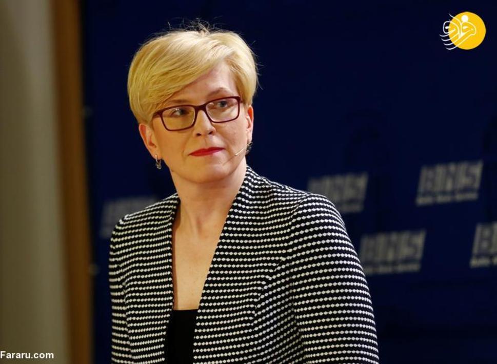 اینگریدا سیمونیت رئیس جمهور لیتوانی که از 25 نوامبر 2020 مشغول کار است