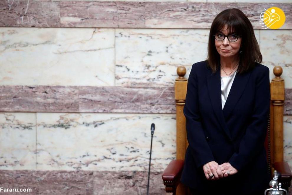 اکاترینی ساکلاروپولو رئیس جمهور یونان، آغاز فعالیت از 13 مارس 2020