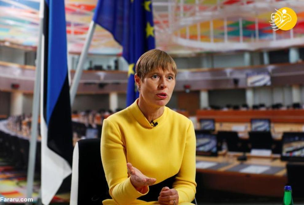 کرستی کالیولاید رئیس جمهور استونی که از 10 اکتبر 2016 در این سمت مشغول به کار است