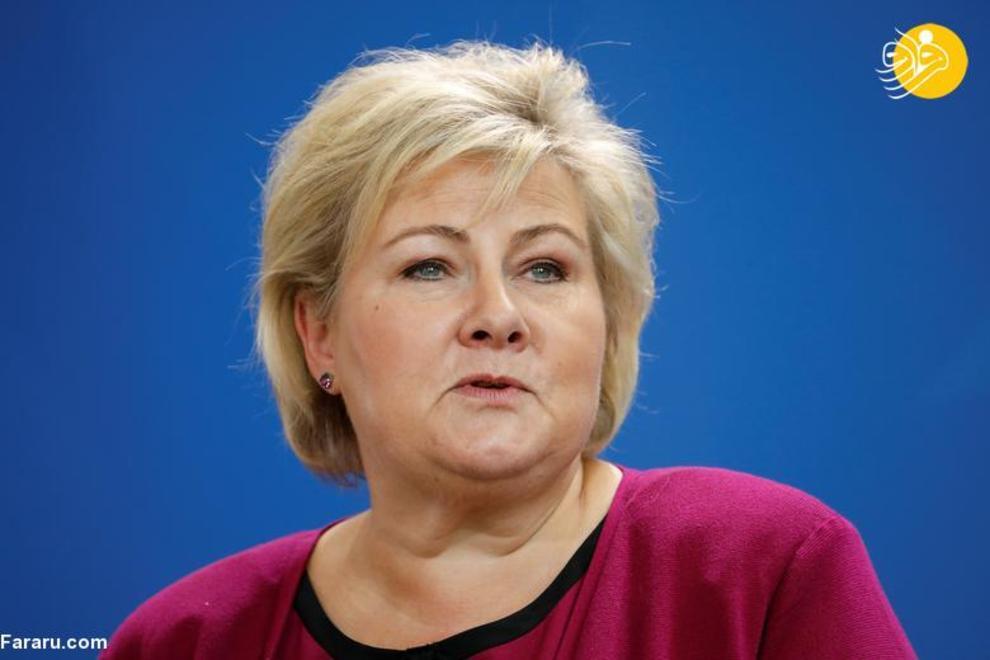 ارنا سولبرگ نخست وزیر نروژ، آغاز به کار از 16 اکتبر 2013