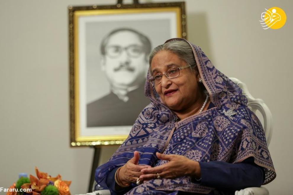 شیخ حسینه نخست وزیر بنگلادش که از 6 ژانویه 2009 روی کار آمده است