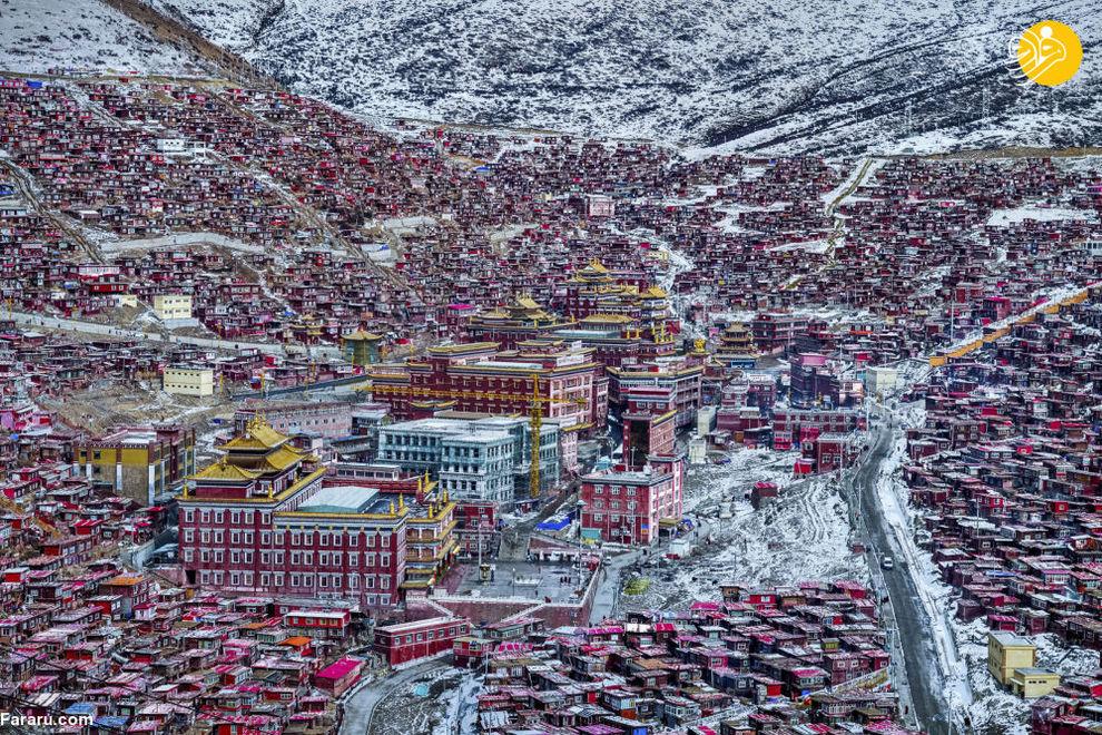 سرزمین بودا/ عکاس باب چیا از چین
