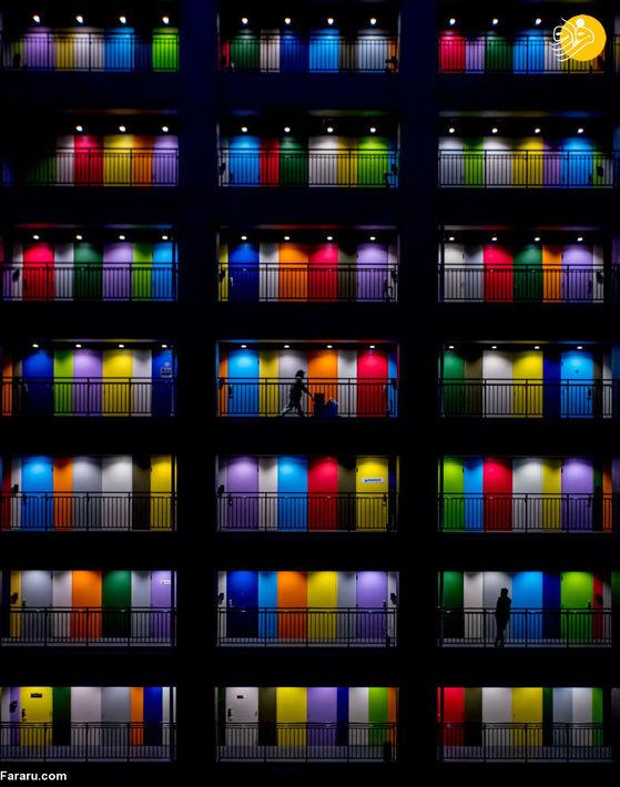 درهای رنگین/ عکاس نوتومو نورهادی از اندونزی