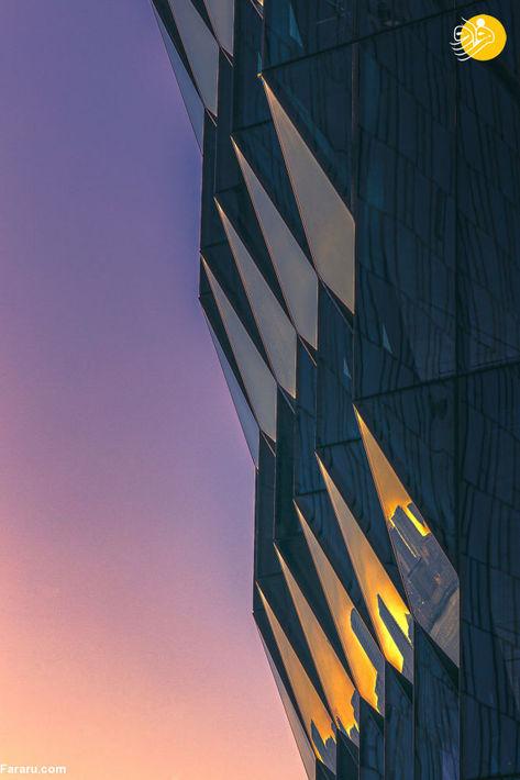 شهر در آتش/ عکاس دانیئل جنی از آمریکا