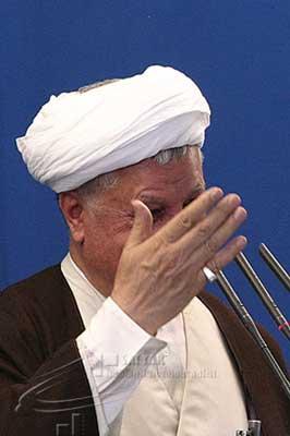 نماز جمعه تهران به امامت هاشمی رفسنجانی