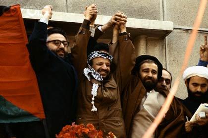 در ایران با حاج  احمد خمینی و ابراهیم یزدی