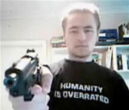 رابطه اینترنتی دانش آموز تیرانداز فنلاندی و متهم آمریکایی
