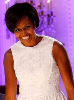 میشل اوباما، همسر رئیس جمهور آمریکا