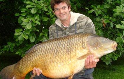 ماهی کپور 25 ساله در انگلیس