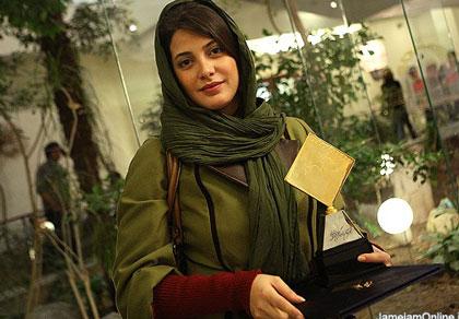 عكسهای لیلا حاتمی و طناز طباطبایی در جشن منتقدان سینما