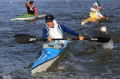 اردوی تیم ملی قایقرانی زنان