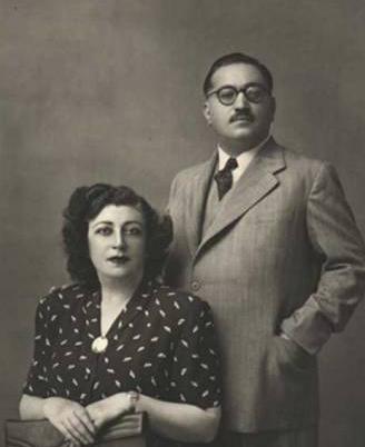 توران امیرسلیمانی و همسر دومش ذبیحالله ملكپور