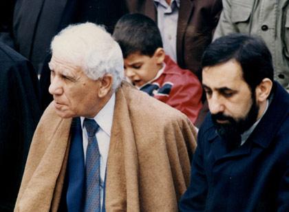 در کنار وزیر خارجه مراکش