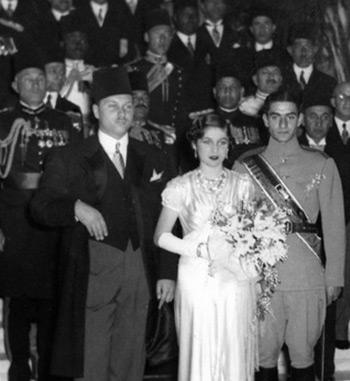 مراسم ازدواج با شاه