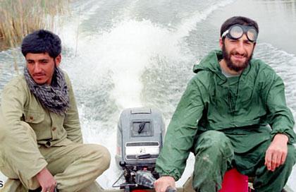مهران رجبی,جبهه